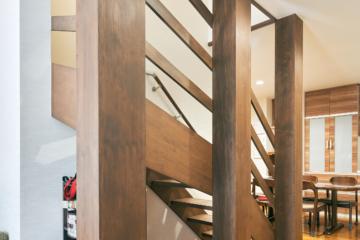 2階居室と階段の大改築、お子様たちの心地よい居場所に